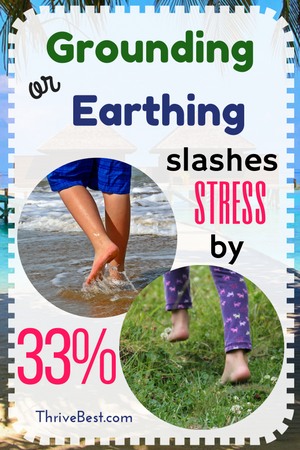 Grounding or earthing for stress