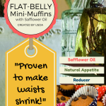 Flat-Belly Mini-Muffins with Safflower Oil: Recipe for Weight Loss