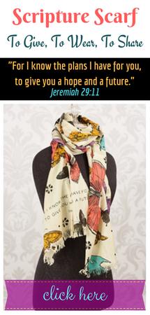 Scripture Scarf Jer. 29:11