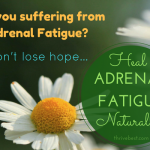How to Heal Adrenal Fatigue Naturally: Sea Salt and Lifestyle Changes
