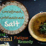 Natural Sea Salt for Adrenal Fatigue and Panic Attacks