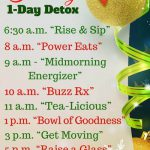 Dr. Oz One-Day Detox Diet Plan: Holiday Mini-Cleanse Guide