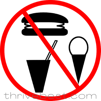 avoid snacks for weight loss sign