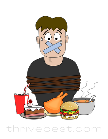 unhealthy diet foods